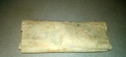 Лаваш с колбасой и сыром - фото шаг 4