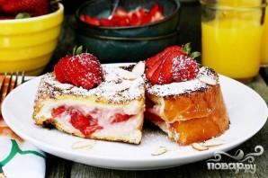 Французские тосты с фруктовой начинкой - фото шаг 6