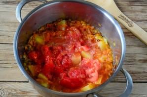 Томатный крем-суп с хрустящим рисом - фото шаг 4