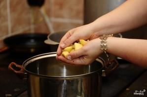 Суп из шпината замороженного - фото шаг 3