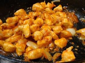 Курица в имбирном соусе - фото шаг 7