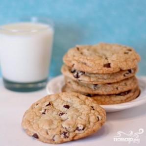 Печенье с шоколадом и ванилью - фото шаг 4