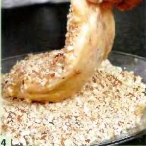 Куриные грудки, фаршированные ананасом - фото шаг 4