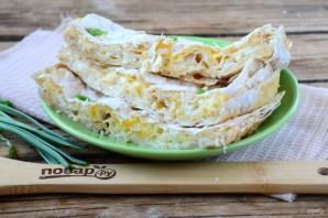 Сырный пирог из армянского лаваша - фото шаг 7