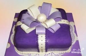 """Торт """"Подарок"""" - фото шаг 20"""