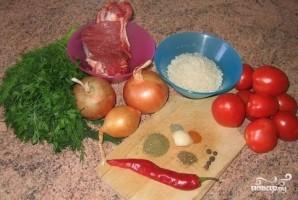 Харчо из говядины по-грузински - фото шаг 1