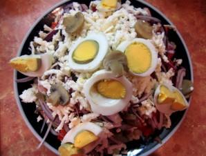 Овчарский салат - фото шаг 10