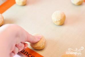 Мини-печенье с джемом - фото шаг 3