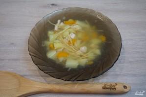 Куриный суп с лапшой - фото шаг 7