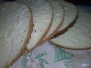 Большой бисквитный торт с безе - фото шаг 6