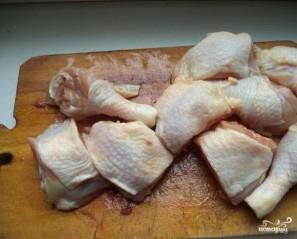 Жаркое в духовке с курицей - фото шаг 2
