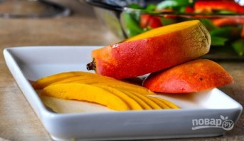 Салат с перцем и манго - фото шаг 5