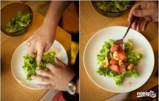 Салат из раковых шеек - фото шаг 15