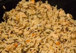 Чесночный рис с курицей - фото шаг 8