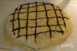 Легкий торт со сгущенкой - фото шаг 6