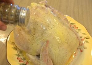 Фаршированная курица в рукаве - фото шаг 7