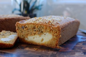 Морковный пирог с начинкой из сливочного сыра - фото шаг 12