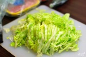 Теплый салат с курицей - фото шаг 1
