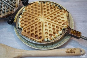 Голландские вафли - фото шаг 8