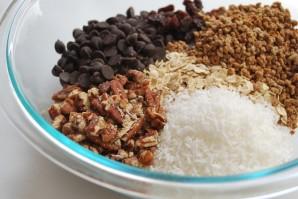 Овсяное печенье с кусочками шоколада - фото шаг 4