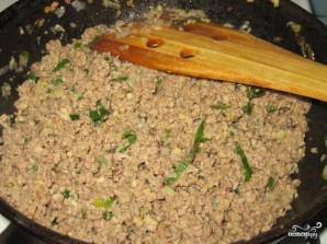 Слоеный мясной пирог - фото шаг 5