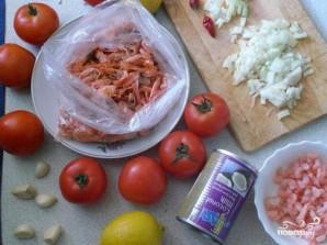 Суп с креветками - фото шаг 1