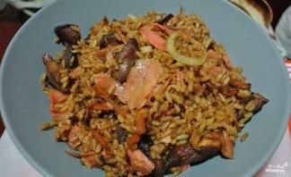 Жареный рис со свининой и овощами - фото шаг 6