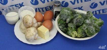 Запеканка из брокколи и шпината - фото шаг 1