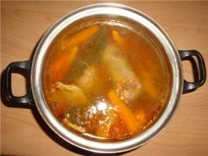 Шурпа по-узбекски из баранины - фото шаг 11
