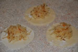 Вареники с капустой и картошкой - фото шаг 9