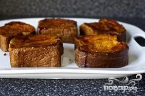 Французские тосты крем-брюле - фото шаг 6