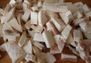 Кабачки, фаршированные грибами и сыром - фото шаг 2