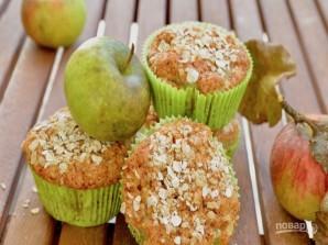 Веганские кексы с яблоками - фото шаг 5