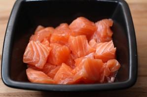 Паста с лососем и сыром - фото шаг 1