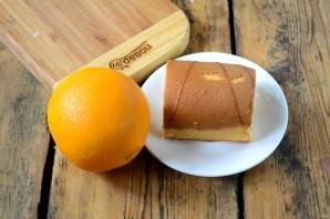 Цинамоновые роллы в апельсиновой корке - фото шаг 1