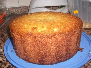 Простой рецепт бисквитного пирога - фото шаг 9