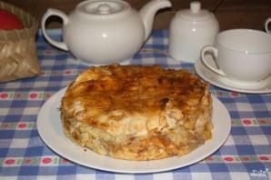 Слоеный яблочный пирог - фото шаг 10