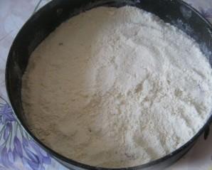 Насыпной пирог с вареньем - фото шаг 3