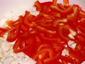 Цветная капуста с перцем - фото шаг 2