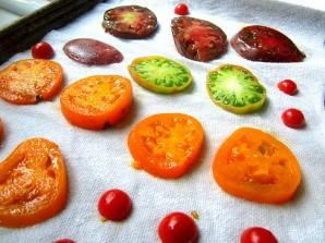 Пирог с рикоттой и помидорами - фото шаг 1