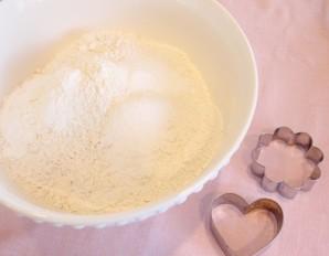 Печенье на 14 февраля - фото шаг 1