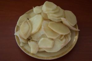 Запеканка с колбаской и сыром - фото шаг 2