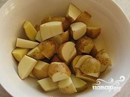 Картофель в рукаве в духовке - фото шаг 2