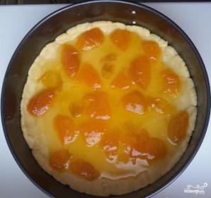 Песочный пирог с абрикосовым вареньем - фото шаг 3