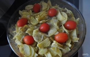 Картофель, запеченный в сметане - фото шаг 6