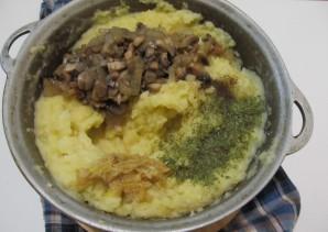 Картофельное пюре с шампиньонами - фото шаг 3