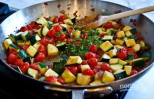 Овощи соте - фото шаг 4