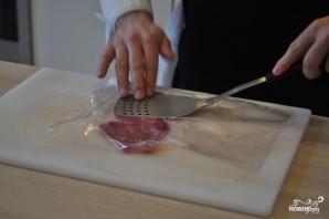 Карпаччо из мраморной говядины - фото шаг 3