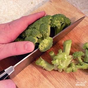 Салат с брокколи - фото шаг 4