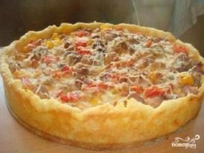 Открытый мясной пирог - фото шаг 4